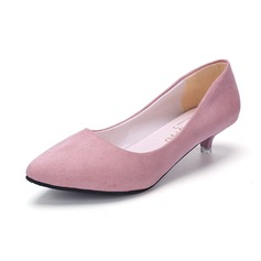 Vrouwen Kunstleer Suede Stiletto Heel Pumps (047108596)