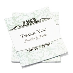 Персонализированные Формальный стиль Спасибо карты (набор из 50) (114054959)