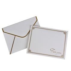современный стиль Боковой складкой Спасибо карты (набор из 50) (114205159)