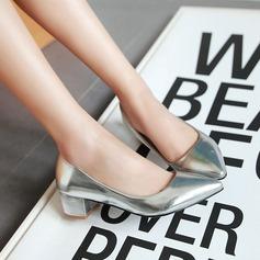 Женщины кожа Низкий каблук На каблуках (047108900)