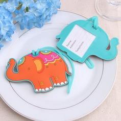 прекрасный слон пластиковые Бирки для багажа (051052631)