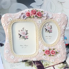 Flower Design Resin Photo Frames (051037804)