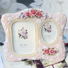 Blomst udformning Harpiks Fotorammer (051037804)