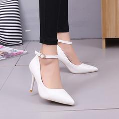 Vrouwen Kunstleer Stiletto Heel Pumps (047108612)