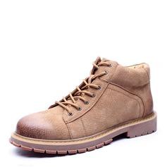 Menn Egte Lær Snø støvler Avslappet Boots til herre (261172222)