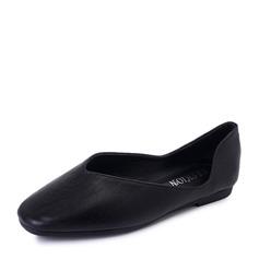 Женщины PU Плоский каблук На плокой подошве Закрытый мыс с Другие обувь (086152995)