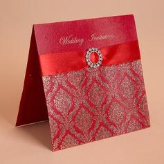 Style Florale Pli horizontal Invitation Cards (Lot de 50) (114058285)
