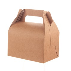 Элегантные корзины картона бумаги Фавор коробки и контейнеры/пирожня Коробки (набор из 12) (050060735)