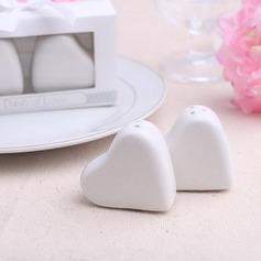 в форме сердца керамика соль и перец шейкеры (Набор из 2 штук) (051052630)