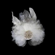 красивый Горный хрусталь перья цветы (042016617)