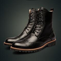 Мужская натуральня кожа Chukka вскользь Men's Boots (261172199)