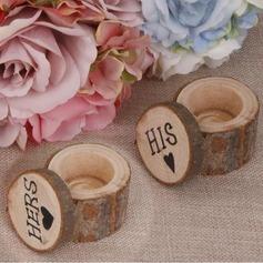 Коробка кольца в Дерево (комплект из 2 пар) (103103585)