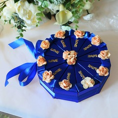Сладкая любовь Корень картона бумаги Коробочки с Цветы (набор из 10) (050200888)