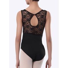 Женщины Одежда для танцев хлопок Балет Практика Балетное трико (115121767)