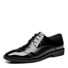 Мужская кожа Cap Toes шнуровка Платья Men's Oxfords (259173586)