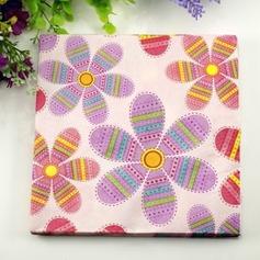 цветочным узором Обеда салфетки (набор из 20) (011036240)