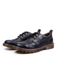 Hommes Vrai Cuir Dentelle Décontractée Travail Chaussures Oxford pour hommes (259172123)