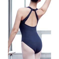Женщины Одежда для танцев хлопок Балет Практика Балетное трико (115121764)
