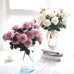 вскользь шелковые цветы Домашнего декора (203169257)