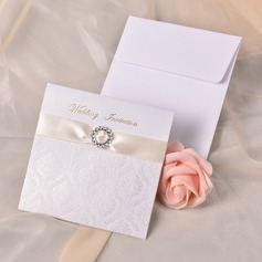 Stile Moderno Wrap & Pocket Invitation Cards con Nastri (Set di 10) (118040264)