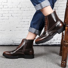 Мужская натуральня кожа Chukka вскользь Men's Boots (261172190)