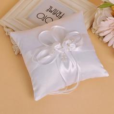 Грейс Кольцо подушки в Ткань с Лук/Перлы ложный (103151816)