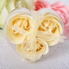 3 Stuks Mooie roos Zeep (051017518)