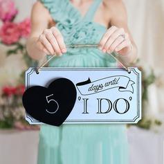De madeira Acessórios decorativos/wedding Registe- (conjunto de 5) (131124908)