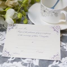 классический стиль Плоская карта Invitation Cards (набор из 50) (114064002)