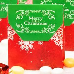 Feliz Natal Papel cartão Caixas do Favor (conjunto de 12) (050146432)