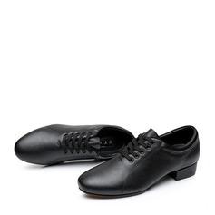 Män Äkta läder Latin Modern Övning Dansskor (053128294)