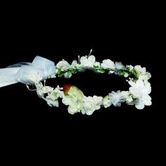Дети прекрасный Искусственного шелка Девушки цветка Головной убор (042026530)