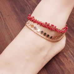Alloy Foot Jewellery (Sold in a single piece) (107156787)