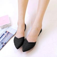 Kvinner PVC Flate sko Lukket Tå sko (086165220)