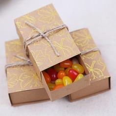 творческих/Классический Кубовидной картона бумаги Фавор коробки и контейнеры (набор из 50) (050203405)