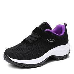 Mulheres malha com Aplicação de renda Velcro Ténis e Atletismo (247163306)