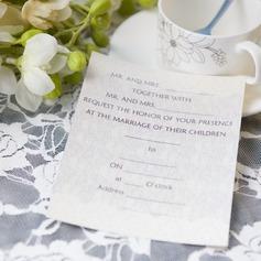 классический стиль Плоская карта Invitation Cards (набор из 50) (114063997)