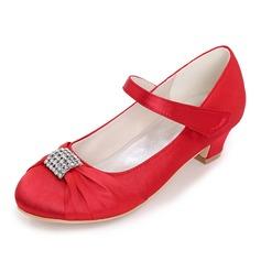 Закрытый мыс Обувь для девочек с развальцовка (207111564)