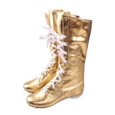 Женщины кожа Ботинки Джаз Обувь для танцев (053076371)