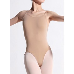 Женщины Одежда для танцев Спандекс Капрон Балет Практика Балетное трико (115121772)