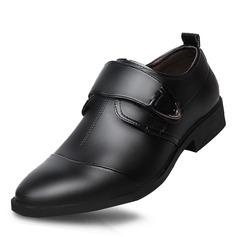 Hommes Cuir en Microfibre Sangles de moine Chaussures habillées Travail Chaussures Oxford pour hommes (259173764)