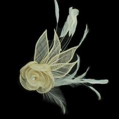 Довольно чистая пряжа/перья Цветы и перья (042050408)