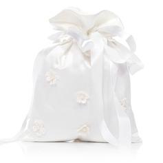 Elegant Satin mit Nachahmungen von Perlen/Spitze Braut Geld-Beutel (012029645)