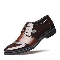 Hommes Similicuir Dentelle Chaussures habillées Travail Chaussures Oxford pour hommes (259172240)