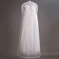 Simples Comprimento do vestido Saco de Roupa (035084617)