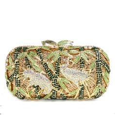 прекрасный Мерцающая отделка Клатчи/Роскошные сумка (012051328)