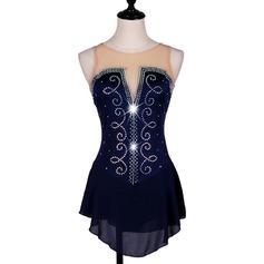 Женщины Одежда для танцев Спандекс Капрон Латино Представления Платья (115166278)