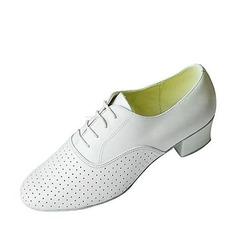 Мужская Натуральня кожа На каблуках Практика Обувь для танцев (053018583)