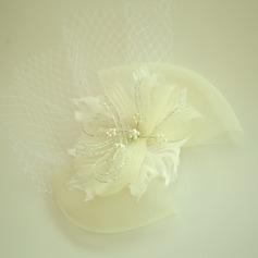 Дамы Красивая чистая пряжа/перо лоб ювелирные изделия/шляпа (042143679)