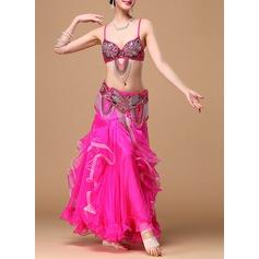 Женщины Одежда для танцев хлопок полиэстер шифон Танец живота Инвентарь (115086466)